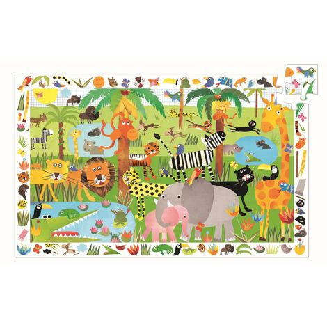 Djeco Puzzle Dschungel