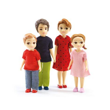 Djeco Puppenhaus Familie Thomas & Marion