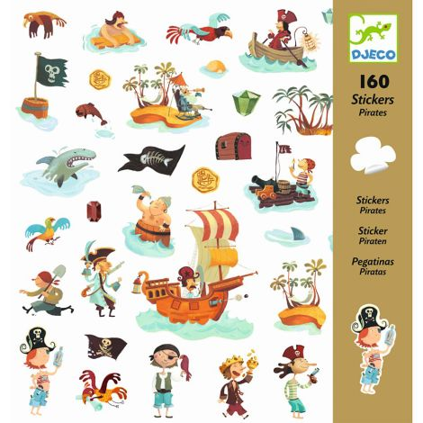 Djeco Sticker Piraten