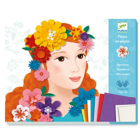 Djeco Papierkunst Young Girls in Flowers