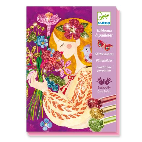 Djeco Glitzerbilder The Scent of Flowers