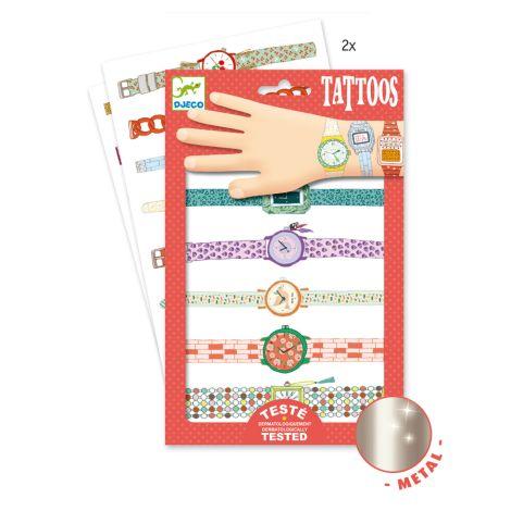 Djeco Tattoos Wendys Armbanduhren Body Art