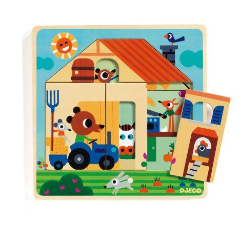 Djeco Puzzle Chez Gaby