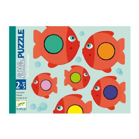 Djeco Kartenspiel für Kleine Little Puzzle