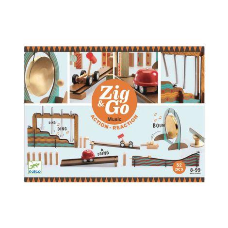 Djeco Zig & Go - Musik - 52 Teile