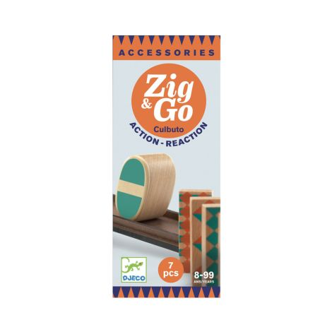 Djeco Zig & Go - Culbuto - 7 Teile