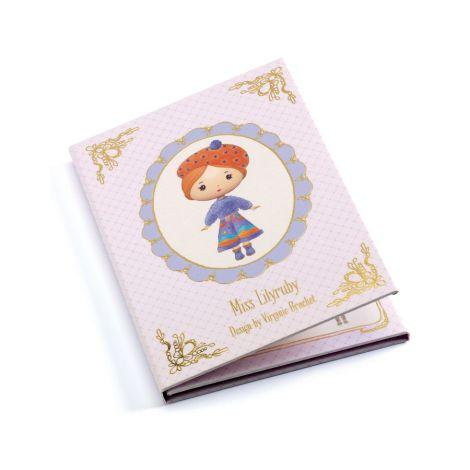 Djeco Tinyly Miss Lilyruby - Sticker