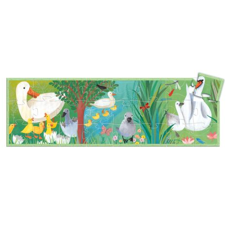 Djeco Formenpuzzle The Ugly Duckling - 24 Teile