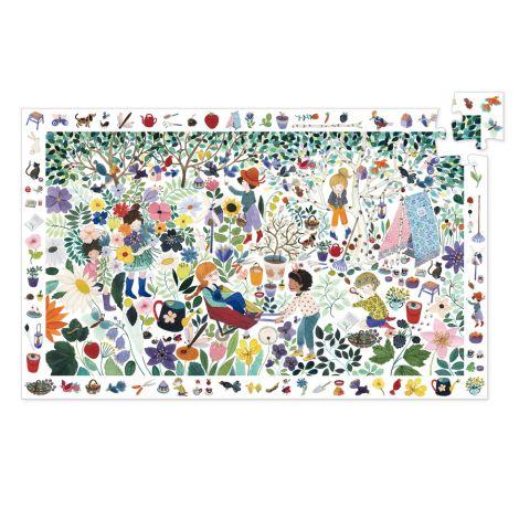 Djeco Puzzle 1000 Blumen 100 Teile