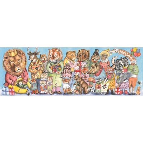 Djeco Puzzle Gallerie Puzzle Galery King Party 100 Teile