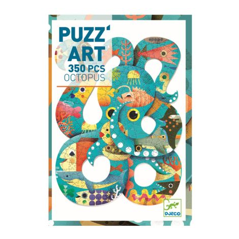 Djeco Puzzle Puzz'art Octopus 350 Teile