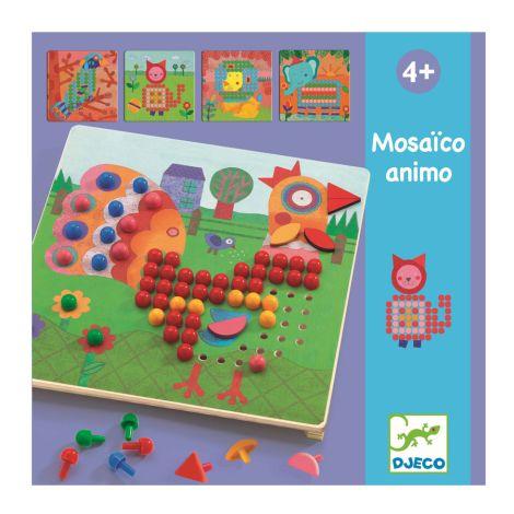 Djeco Lernspiel Mosaico Animo
