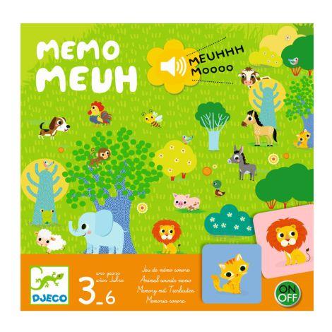 Djeco Spiel Memo Meuh
