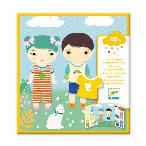 Djeco Sticker Kleidung