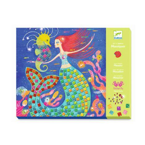 Djeco Mosaike Glitzer Der Gesang der Meerungfrauen