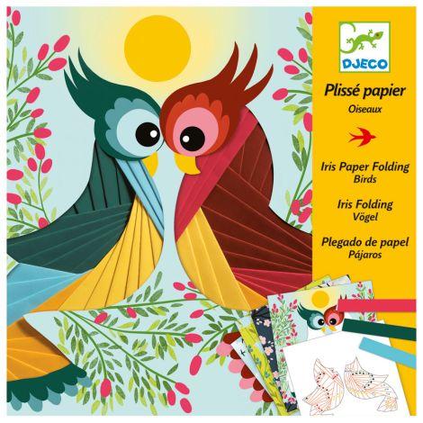 Djeco Papierkunst Plissé Papier - Bird