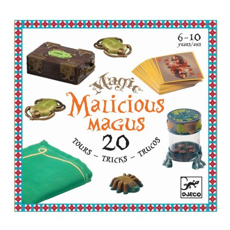 Djeco Zaubertricks Malicious 20 Tricks
