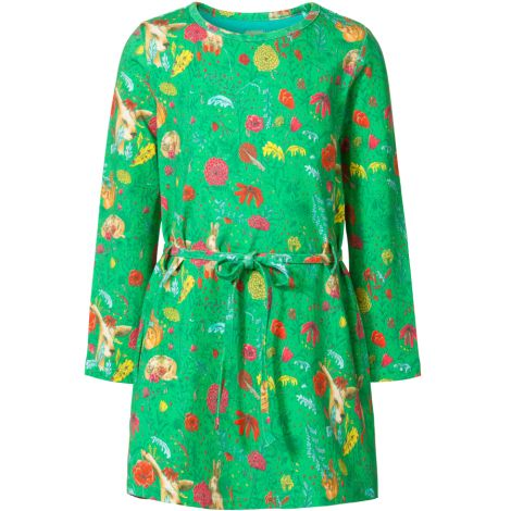 Room Seven Jersey-Kleid Tollys The Forest Light Green