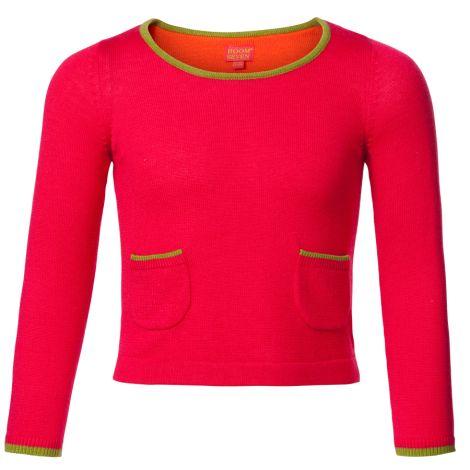 Room Seven Pullover Kimya Solid Pink