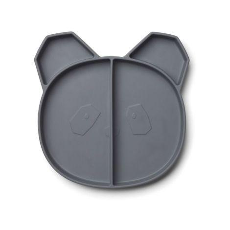 LIEWOOD Menüteller Maddox Panda Stone Grey