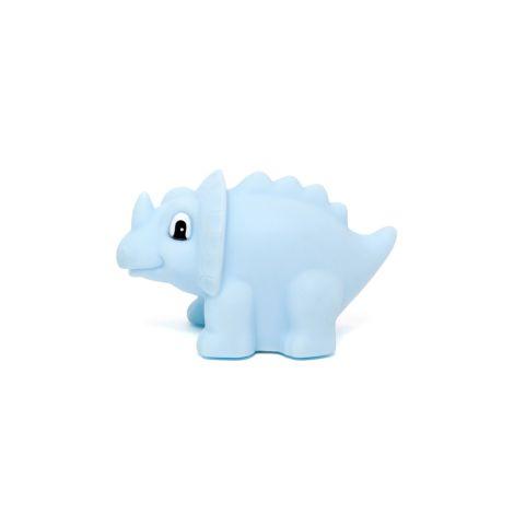 Petit Monkey Nachtlicht Dinosaurier Triceratops Blau