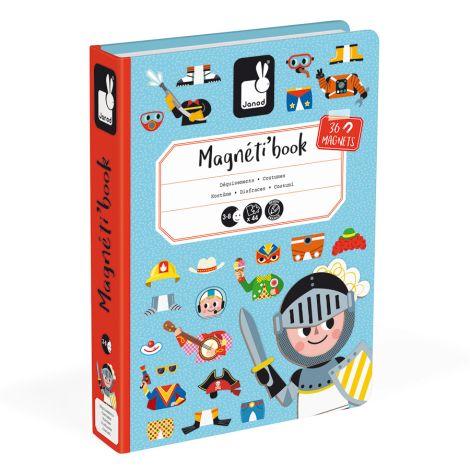 Janod Magnetbuch Kostüme für Jungen