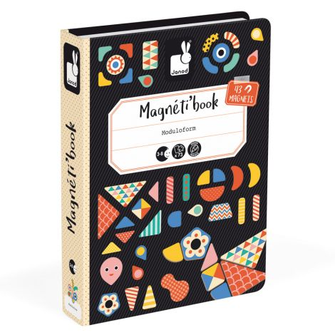 Janod Magnetbuch Formen & Muster