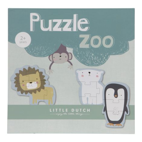 Little Dutch Tierpuzzle Zoo