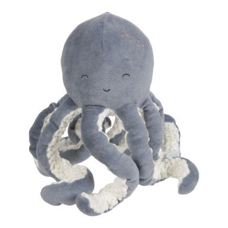 Little Dutch Kuschel Oktopus Ocean Blue