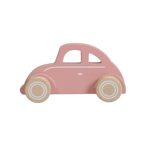 Little Dutch Holz Auto Pink