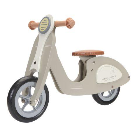 Little Dutch Laufrad Roller Olive