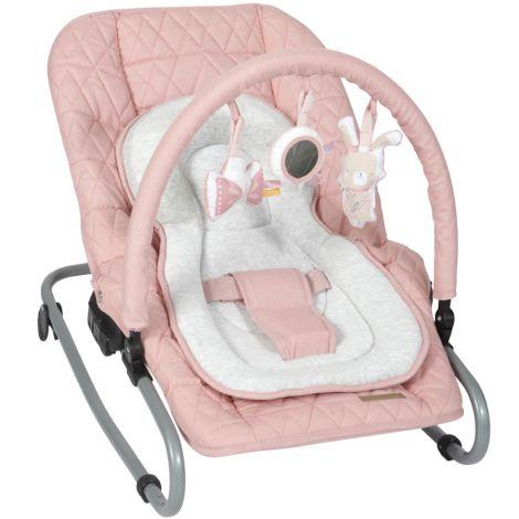 Little Dutch Baby-Wippe mit Spielbogen Pink