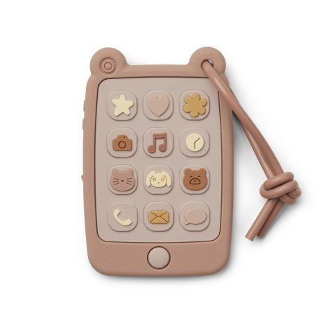 LIEWOOD Spielzeug-Smart-Phone Thomas Rose