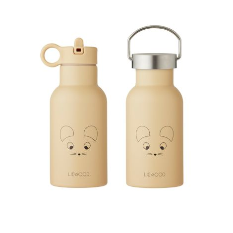 LIEWOOD Thermosflasche Anker Mouse Wheat Yellow 2 Verschlüsse