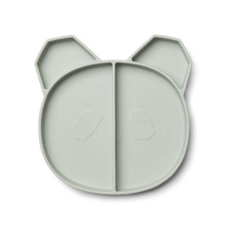 LIEWOOD Menüteller Maddox Panda Dusty Mint •