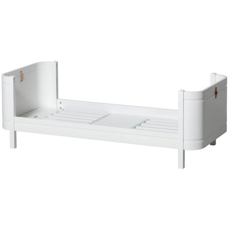 Oliver Furniture Wood Mini+ Juniorbett Weiß