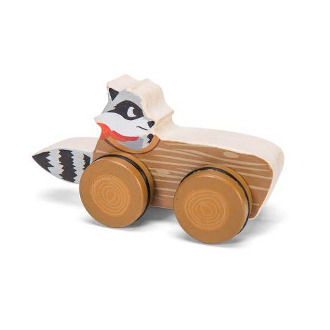 Le Toy Van Das Rennen des Waldes - Waschbär