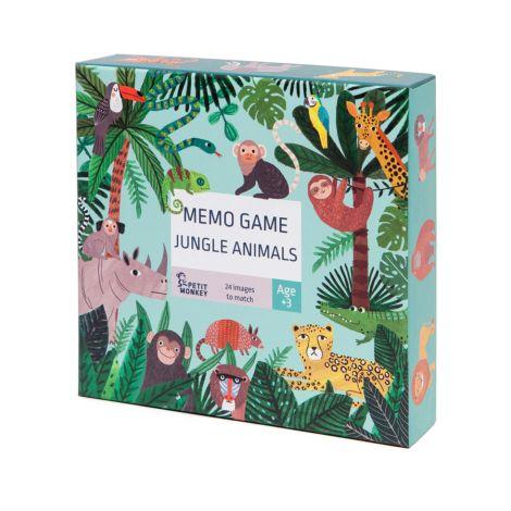 Petit Monkey Memo Spiel Dschungel