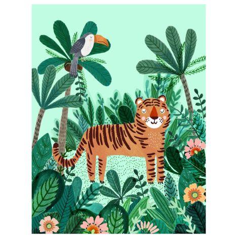 Petit Monkey Poster Tiger