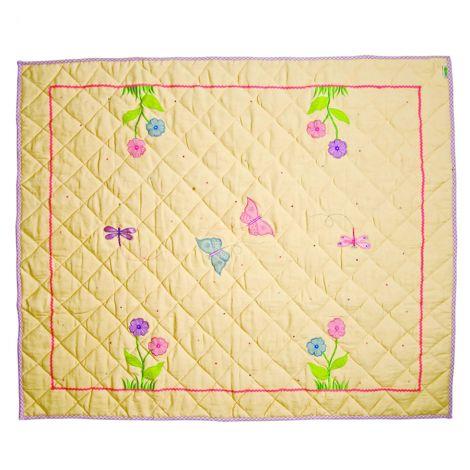Win Green Spieldecke Quilt Butterfly Cottage Klein