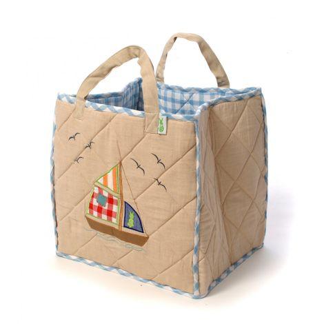 Win Green Spielzeugtasche Beach House