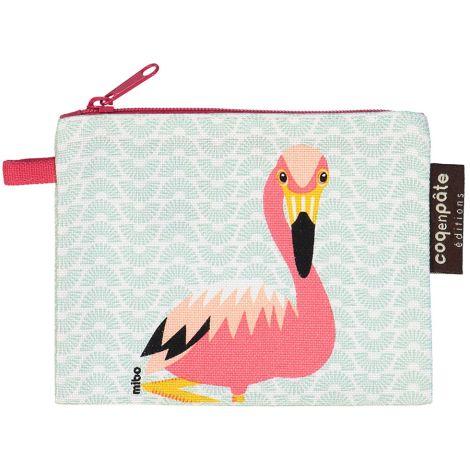 Coq en Pâte Geldbeutel MIBO Flamingo •