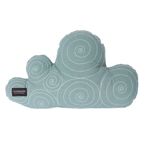 Roommate Kissen Cloud Sea Grey Bio-Baumwolle
