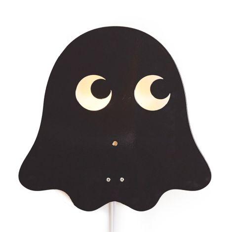 Roommate Lampe Black Ghost Bio-Baumwolle