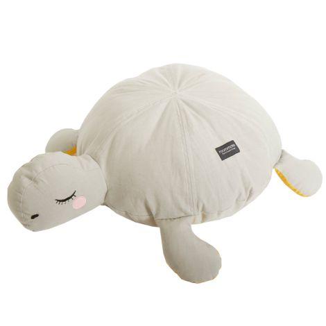 Roommate Pouf Turtle Grey Bio-Baumwolle