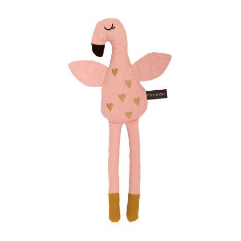 Roommate Kuscheltier Flamingo Bio-Baumwolle