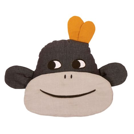 Roommate Kissen Monkey Bio-Baumwolle