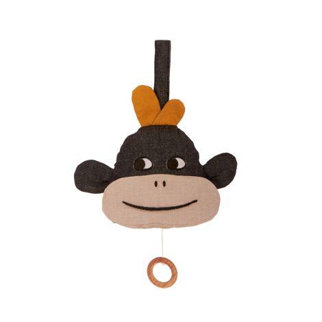 Roommate Spieluhr Monkey Bio-Baumwolle