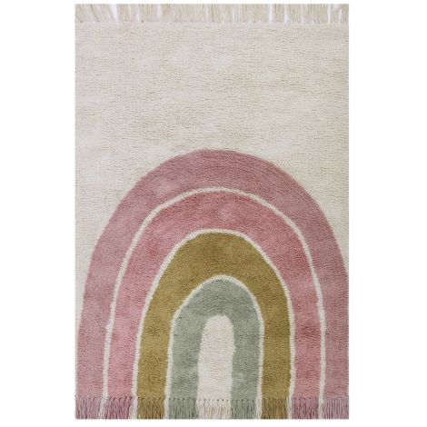 Little Dutch Teppich Rainbow Pink 130 x 90