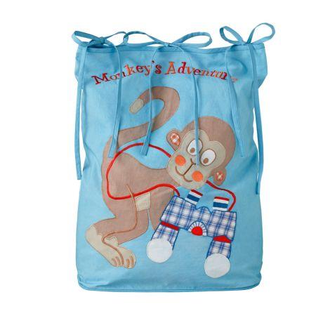 Room Seven Spielzeugtasche Monkey Blau